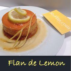 Flan de Lemon www.MyFlan.com by Felix Lugo