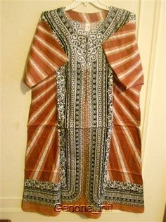 Ladies Womens African Clothing House Dresses Kaftan Gown Summer Caftan One Size #Handmade #Dress #Casual