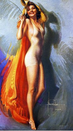 Rolf Armstrong – was an American painter of pin-up art. Rolf Armstrong, Pinup Art, Gil Elvgren, Vintage Posters, Vintage Art, Retro Posters, Uñas Pin Up, Comic Art, Pin Up Illustration