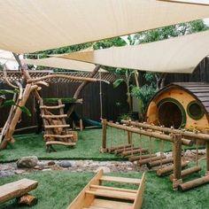 Natural playground. Little Hobbit House. - Yelp