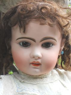 ~~~ Rare Large Bisque BeBe by Jumeau Size 16 ~~~ from whendreamscometrue on Ruby Lane
