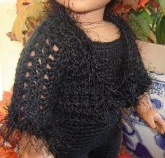 "Bizzy Crochet: Kitty Kat in Black - 18"" Doll Clothes Pattern"