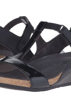 Naot Footwear Unicorn (Black Raven Leather/Black Luster Leather) Women's Sandals - Naot Footwear, Unicorn, 5017-NEE, Footwear Open Casual Sandal, Casual Sandal, Open Footwear, Footwear, Shoes, Gift - Outfit Ideas And Street Style 2017