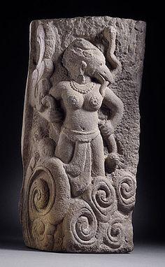 Bird-headed Yogini, Vietnam, Cham, 12th century. LACMA