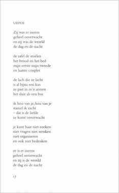 toon hermans liefde - Google zoeken Poem Quotes, Words Quotes, Best Quotes, Life Quotes, Sayings, Special Love Quotes, Dutch Quotes, Perfection Quotes, Inspirational Quotes About Love