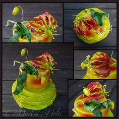 CAKE WITH GLORIOSA SUPERBA (Dort a Glorióza vznešená)