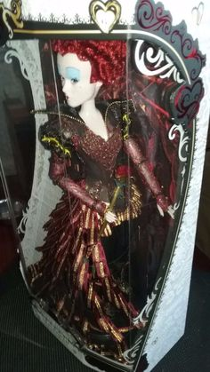 Disney Limited Edition Doll The Red Queen of Hearts NEW Limited Qty RARE #disney