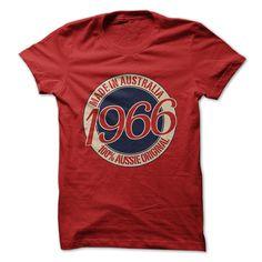 Made in Australia - 1966... #Aged #Tshirt #year