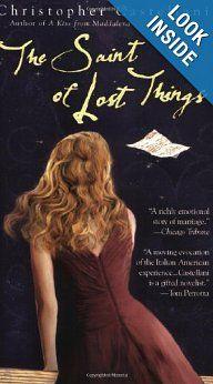 The Saint of Lost Things: Christopher Castellani: 9780425211731: Amazon.com: Books