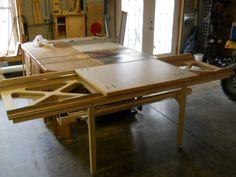 sliding tablesaw attachment