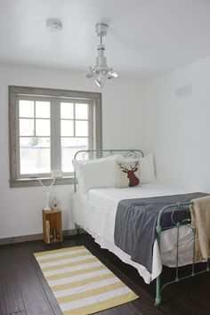 Simple guest bedroom | A Beautiful Mess
