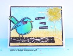 This little card makes me giggle when I see it :) Lorraine is so talented! Simon Says Stamp Monday Challenge blog.