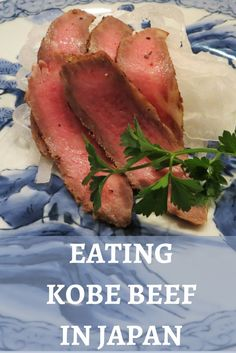 Yes, eating Kobe bee