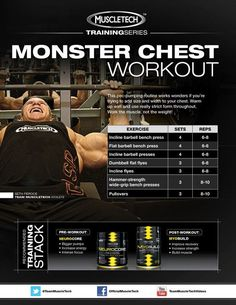 Looking for a Monster Chest Workout to get your Pecs Pumping and add some Serious Size? Check out this killer routine and see what you've got!