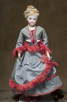 "16"" (36 cm) Antique French Fashion Gaultier Doll - fully original!"