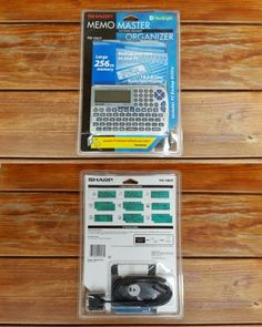 PDAs: Vintage Sharp Yo-180P Memo Master Organizer New / Sealed BUY IT NOW ONLY: $34.99