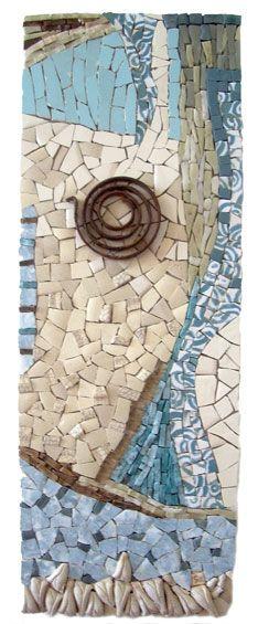 Zebra Mosaic. Customised mosaic artwork, feature walls, artist and designer Sophie Verrecchia - Gallery of Tableaux