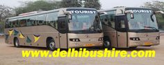 Mercedes Bus Hire Delhi,Luxury Bus Booking Delhi,Volvo Bus hire Delhi
