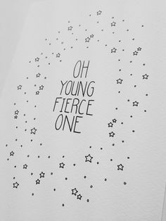 Oh Young Fierce One - 1