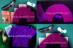 How to make a marked deck? We can offer you the special infrared cards reader to see Fournier 818 marked playing cards. Invisible Ink, Card Reader, Deck Of Cards, Poker, Lenses, Playing Cards, Bee, Make It Yourself, How To Make