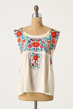Top: Anthropologie.