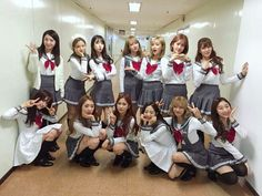 WJSN with school uniform costumes for I Wish promotion Kpop Girl Groups, Korean Girl Groups, Kpop Girls, Kpop Costume, Costumes, Wjsn Luda, Xuan Yi, Cheng Xiao, Pin Pics
