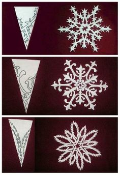 Winter window decorations!
