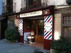 barber shop in Madrid