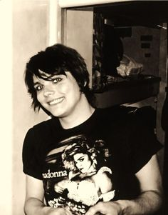 Gerard Way - so damn cute omg can u not. He's even wearing a madonna tshirt tehe
