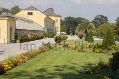 German Garden 8X12 Photo Austria, Germany, Europe, Mansions, Architecture, House Styles, Garden, Arquitetura, Garten
