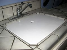 Sink Cover For Laundry Room Creates More Counter Space, While Keeping Sink  Easily Accessible