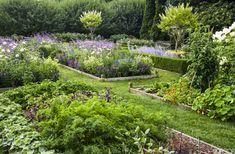 Ina Garten's potager (ornamental vegetable/kitchen garden)