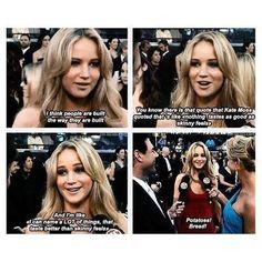 Crushing on Jennifer Lawrence.  As usual.  ;)