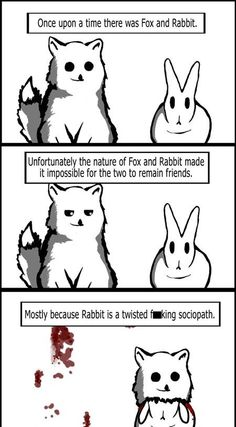 Never trust the bunny...