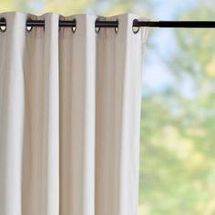Sunbrella® Outdoor Curtain Panel-Vellum