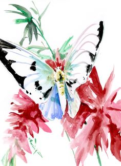 BUtterfly art, Original Watercolor painting by ORIGINALONLY on Etsy Watercolor Paper, Watercolor Paintings, Butterfly Art, Photo Art, Original Artwork, Insects, This Or That Questions, The Originals, Etsy