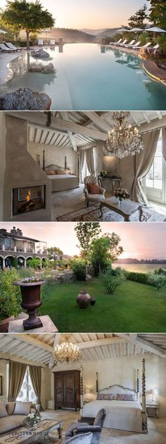 25 Most Luxurious Hotels Worth the Money Borgo Santo Pietro, luxury hotel in Tuscany www.mediteranique...