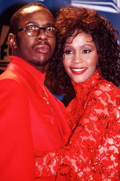 Powerful, Chaotic, Magnifying & Dominant Bobby & Whitney definitely go down in History as one of the worlds most tumultuous yet Loving couple ever. Demons vs Love, Anger vs Love, Pain vs Love they were that and hung on in the name of love. Forever this union is bonded. *Leo & Aquarius*