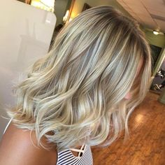 Bronde Hair With Ash Blonde Highlights