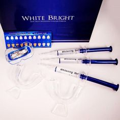 White Bright - The Ultimate Home Teeth Whitening Kit - Dude Gadgets