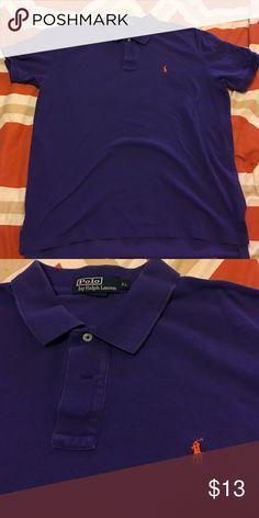 Polo by Ralph Lauren shirt Gently worn men's Polo by Ralph Lauren shirt. Men's size XL Polo by Ralph Lauren Shirts Polos