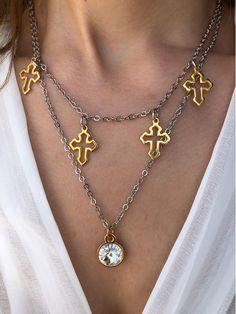 Radfahren Schuhe : Verkauf sunstone necklace Tusk Halskette