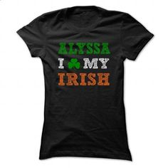 ALYSSA STPATRICK DAY - 0399 Cool Name Shirt ! - #hipster sweater #sweater skirt. ORDER NOW => https://www.sunfrog.com/LifeStyle/ALYSSA-STPATRICK-DAY--0399-Cool-Name-Shirt-.html?68278