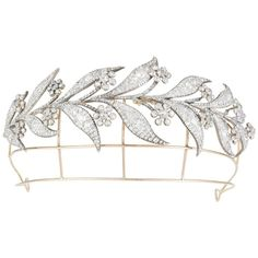 Bentley & Skinner antique tiara from the 1800s, as worn by Lady Mary in her Downton Abbey wedding (£145,000). You can wear this for your wedding day, find out the truth about the Downton Abbey tiara: http://www.thejewelleryeditor.com/jewellery/true-story-behind-downton-abbey-tiara/ #bridal #jewelry