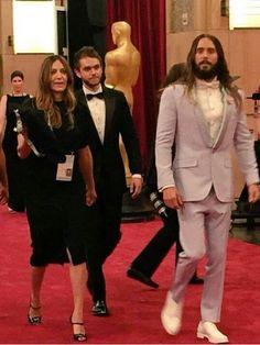 Jared Leto & Zedd  at the 87th Annual Academy Awards #Oscars2015