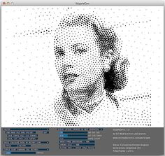 Time to go dotty with your CNC artwork    Halftone-styled images have a compelling power to them.