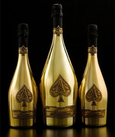 The Armand de Brignac Midas goes for $100,000 a bottle. Now that's a beverage fit for a king.