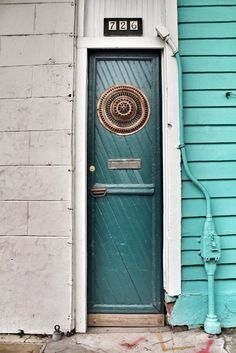 Cool door from New Orleans in Photos: 42 Small Things that make up The Big Easy