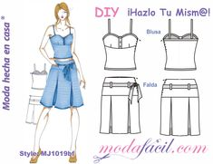 Patrones gratis - Modafacil Doll Clothes Patterns, Clothing Patterns, Diy Fashion, Womens Fashion, Free Sewing, Polyvore, Style, Google, Youtube