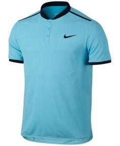 Nike Men's Court Advantage Dri-fit Performance Polo - Purple 2XL